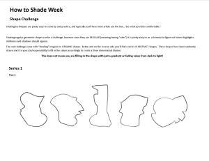 Shape Challenge SHADING
